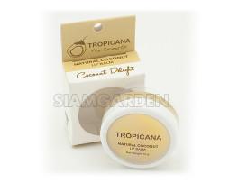 Бальзам для губ Tropicana Тропикана с кокосом