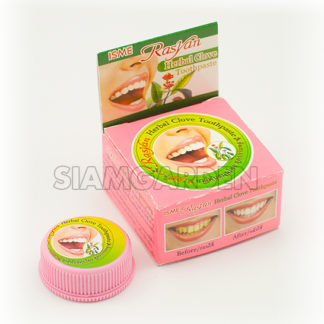 круглая зубная паста Rasyan с гвоздикой