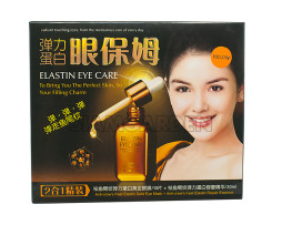 Elastin Eye Care - эссенция с биозолотом для глаз омолаживающая 2в1