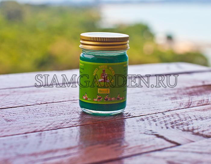 Тайский зеленый Бальзам для тела