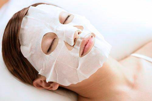 тканевая маская для лица