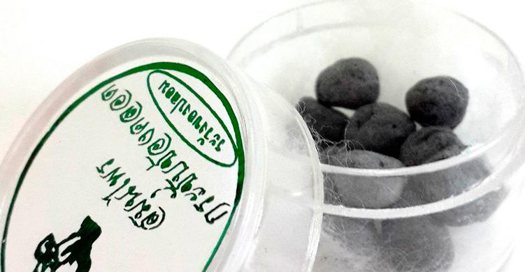 Манджакани - Вагинальные шарики на дубовых галлах