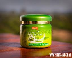 Лучшая Питательная Маска для сухих и поврежденных волос с маслом Оливки и Жожоба - Lolaine Natura