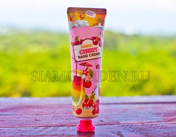Корейский Крем Для Рук Вишневый Рассвет - Sunset Cherry Esfolio