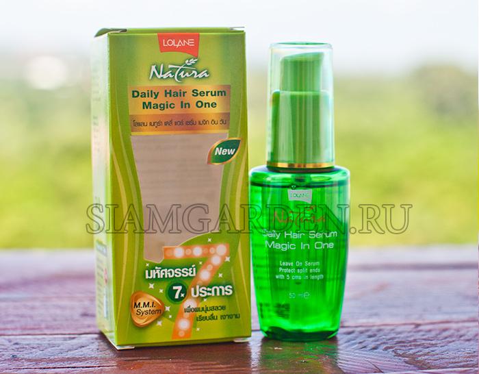 Сет Для Лечения Волос - Серум 7в1 Идеальная Гладкость и Маска Для Волос Lolane Natura