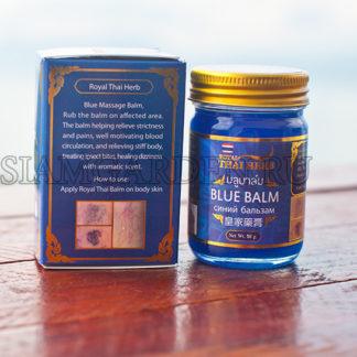 Синий Бальзам из Таиланда от варикоза и сосудистых звездочек