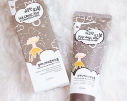 """Volcanic Ash Cleansing Foam - Корейская пенка для умывания с вулканическим пеплом - """"Безупречная кожа"""""""
