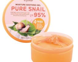 Гель для лица и тела С Улиточным Муцином и Алоэ- Esfolio Pure Snail Moisture Gel- 300мл