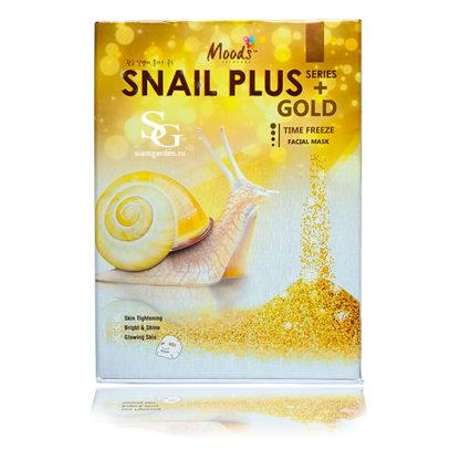 Золотая маска Для жирной кожи Snail Time freeze Moods-