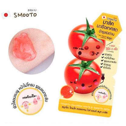 smooto японская маска томатная