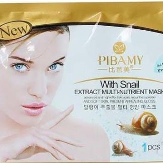 pibamy sheet mask snail