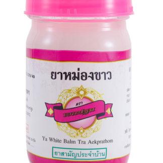 Тайский белый бальзам Ya White Balm Tra Aekprathom Kongkaherb - От хондрозов, невралгии, для мышц и суставов