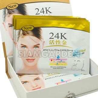 маска 24 карата золота тканевая