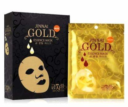 Антивозрастная Тканевая Маска с Эссенцией Био-Золота - JINNAIgold essence mask (Корея)